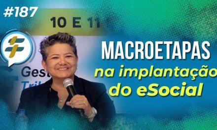 #187: Macroetapas na implantação do eSocial