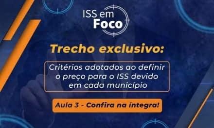 Critérios adotados ao definir o preço para o ISS devido em cada município