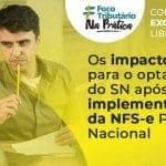Os impactos para o optante do SN após a implementação da NFS-e Padrão Nacional