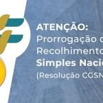 Prorrogação do Recolhimento do Simples Nacional (Resolução CGSN nº 158)